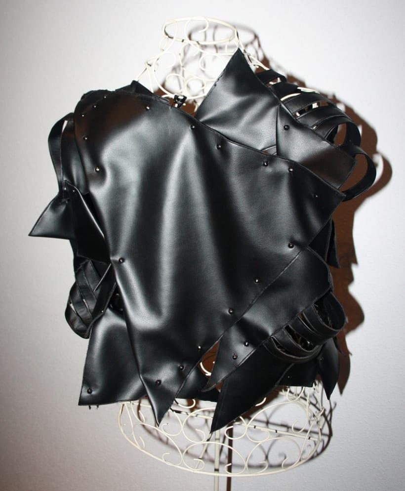Black and shiny. 3