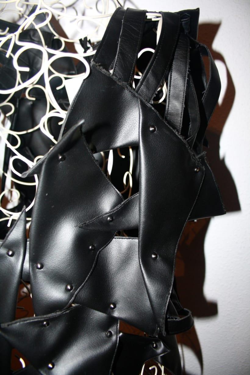 Black and shiny. 2