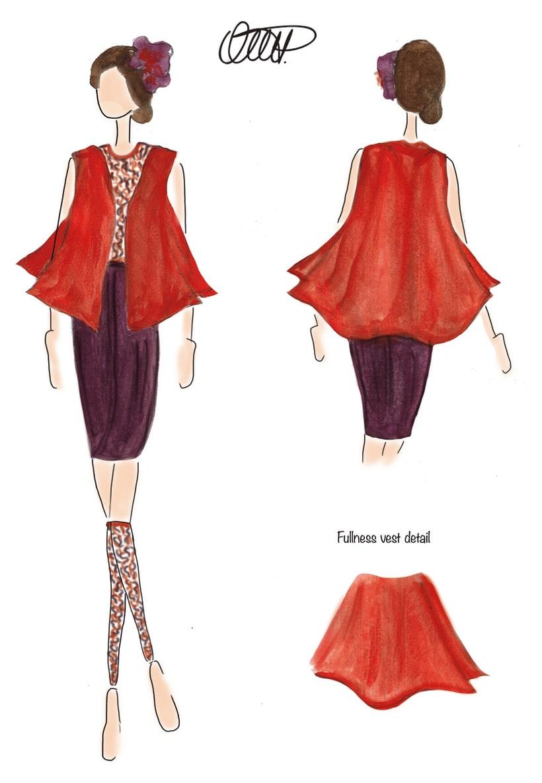 Ilustración de moda 9
