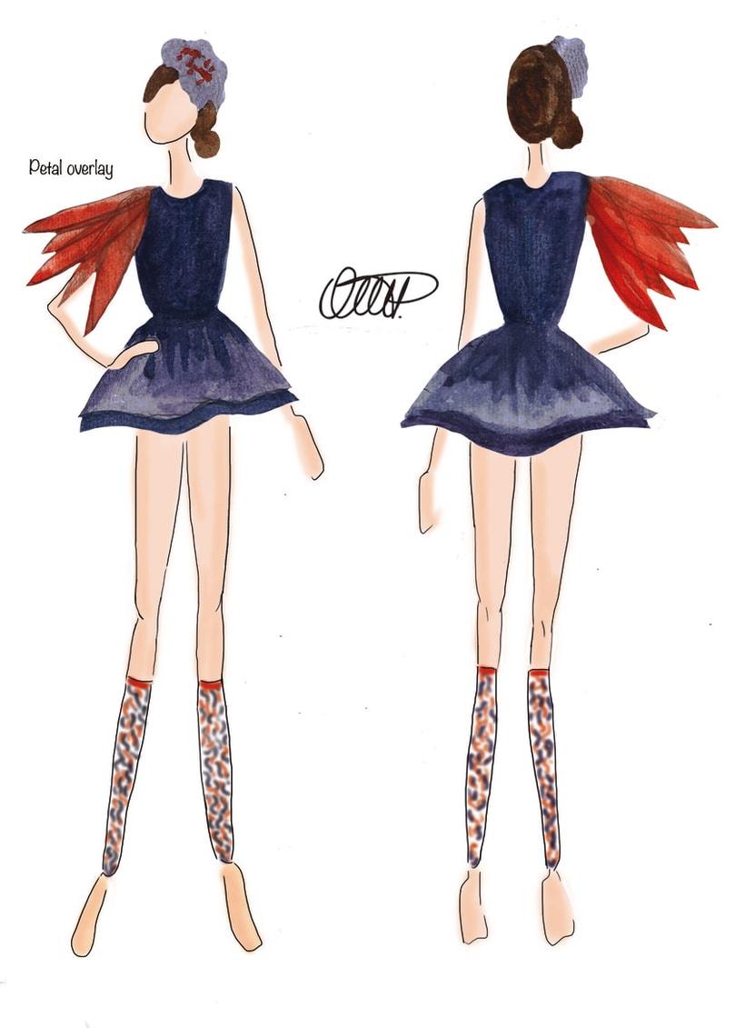 Ilustración de moda 6