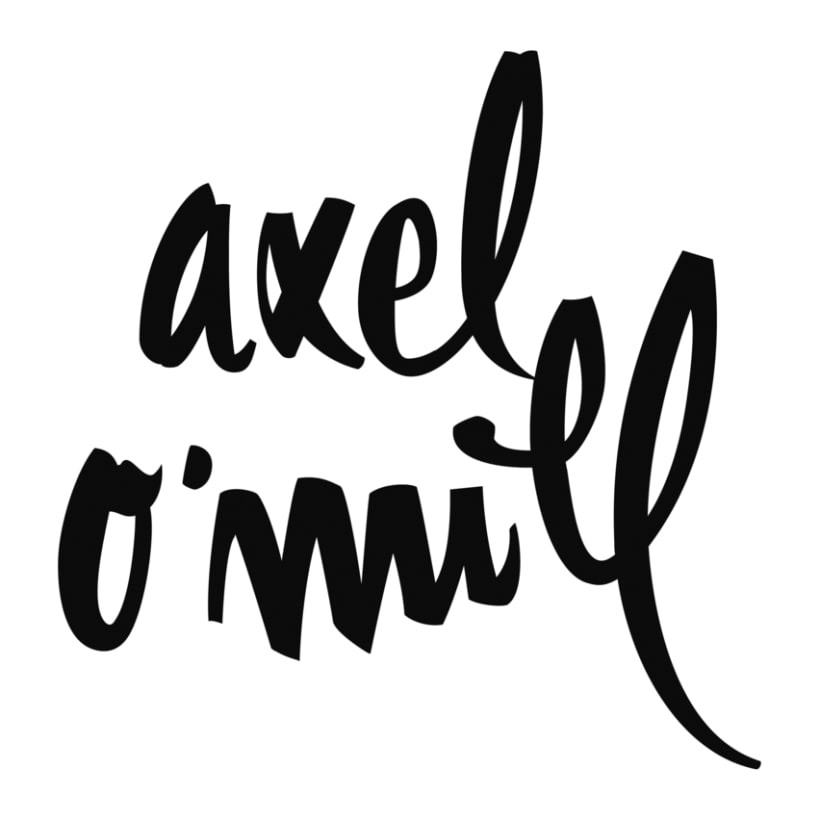 Logotipo Axel O'Mill 1