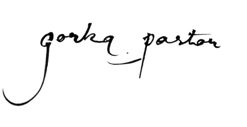 Logotipo Gorka Pastor 1