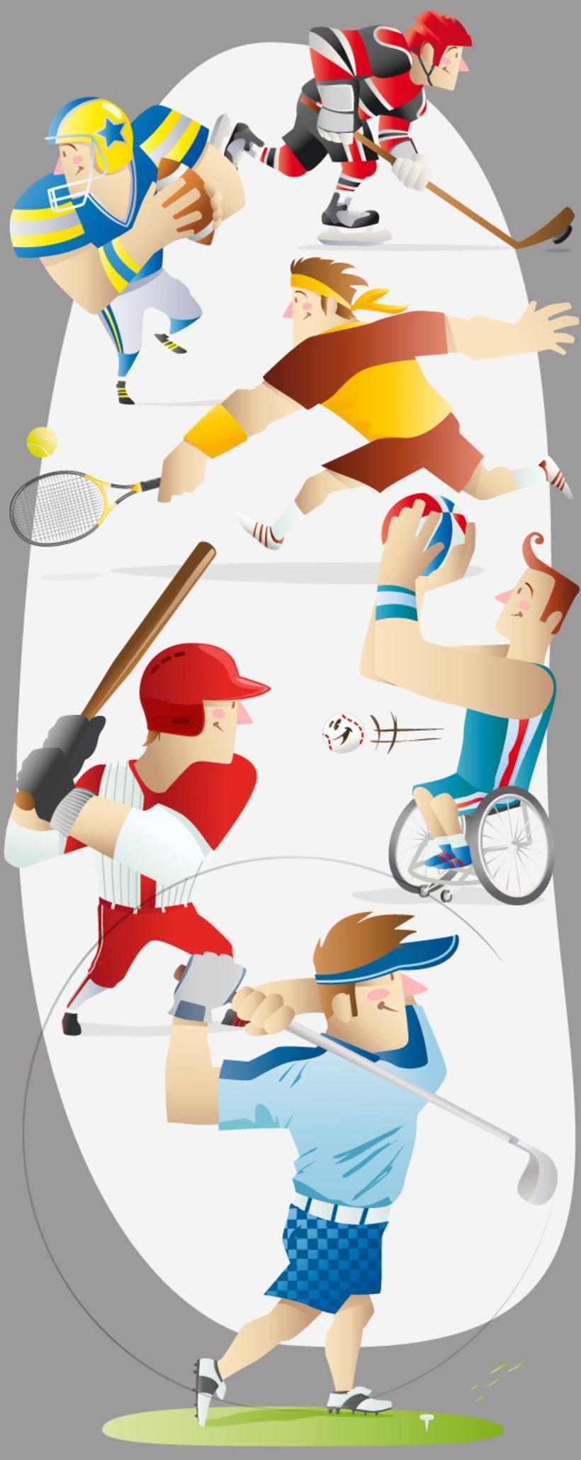 Ilustraciones deportes 1