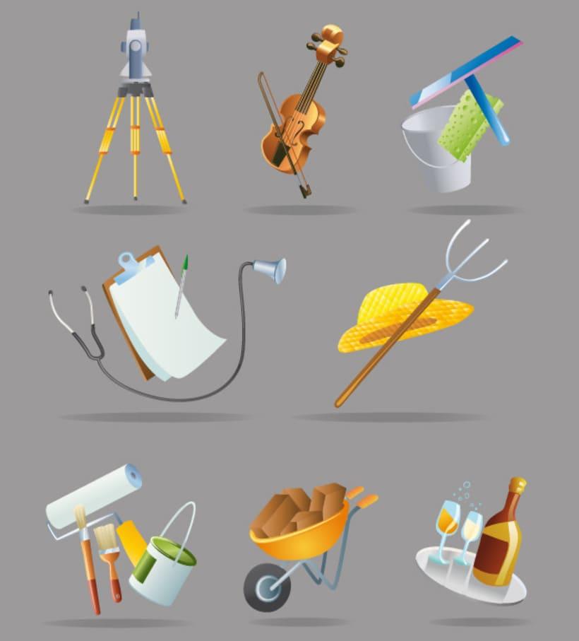 Ilustraciones profesiones 1
