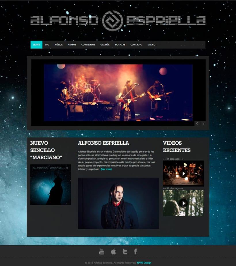 Alfonso Espriella - Web Site 1
