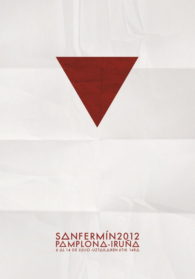 Cartel San Fermin 2012 1