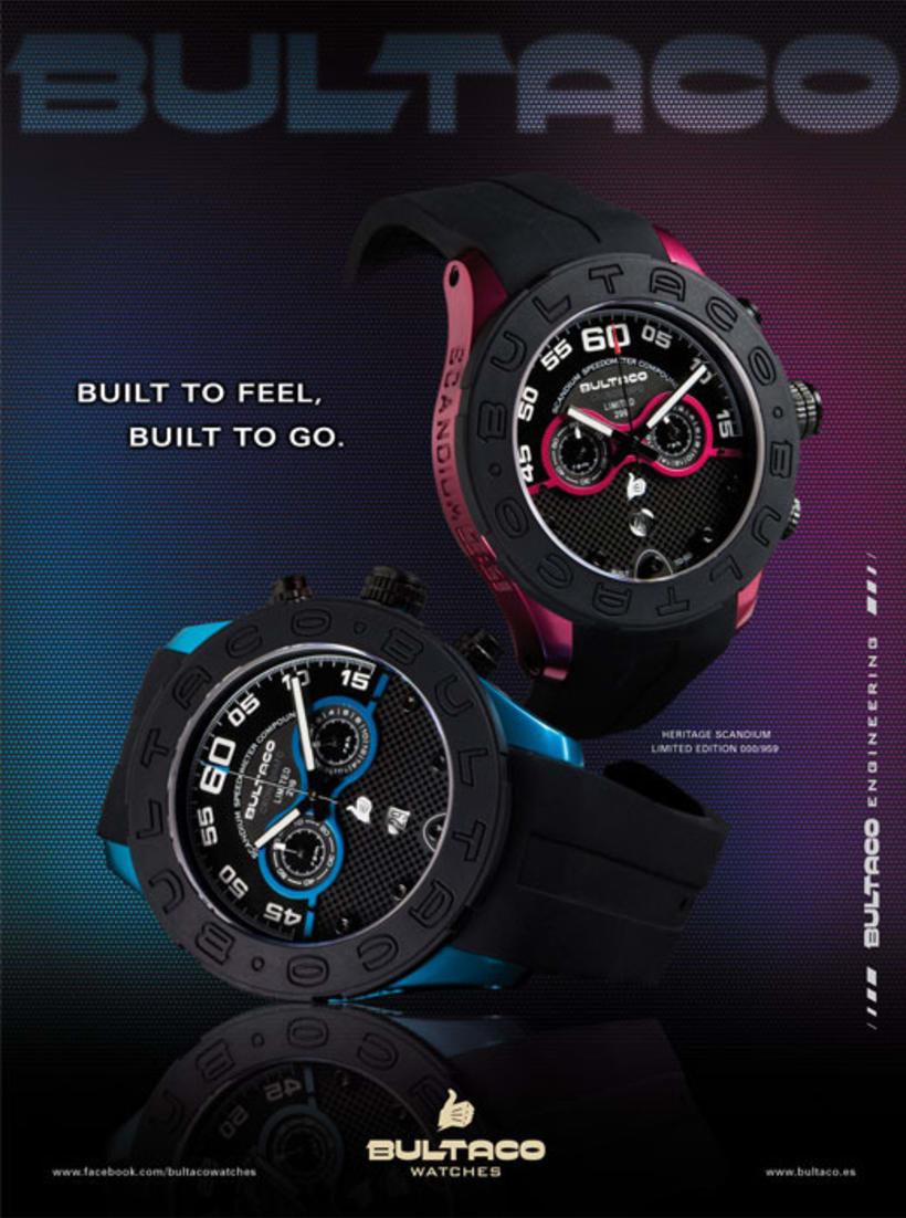 Bultaco Watches - publicidad y fotografía 1