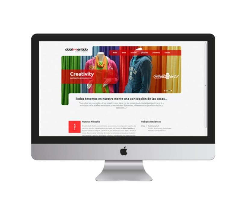 Rediseño Página Web  2