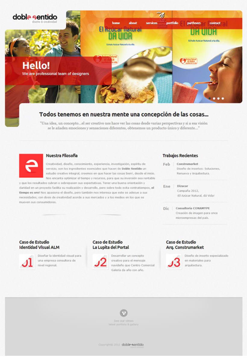 Rediseño Página Web  1
