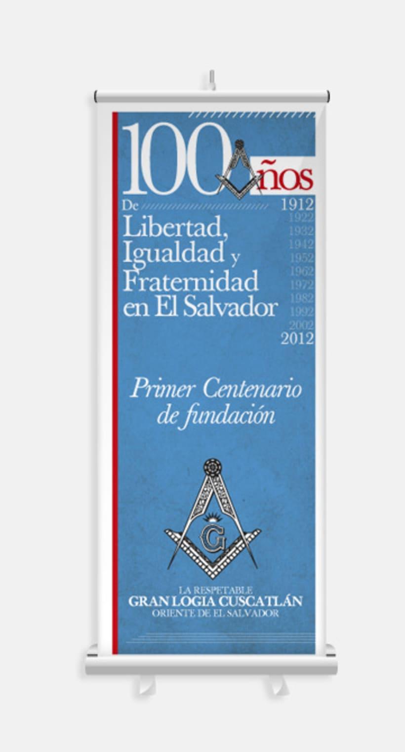 """""""100 Años de Libertad, Igualdad y Fraternidad en El Salvador"""" 3"""