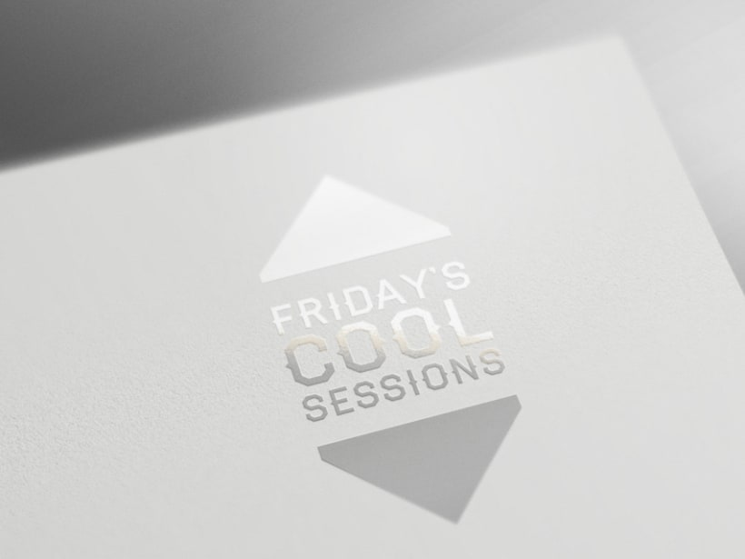 Friday Cool Sessions Logo & Poster 3