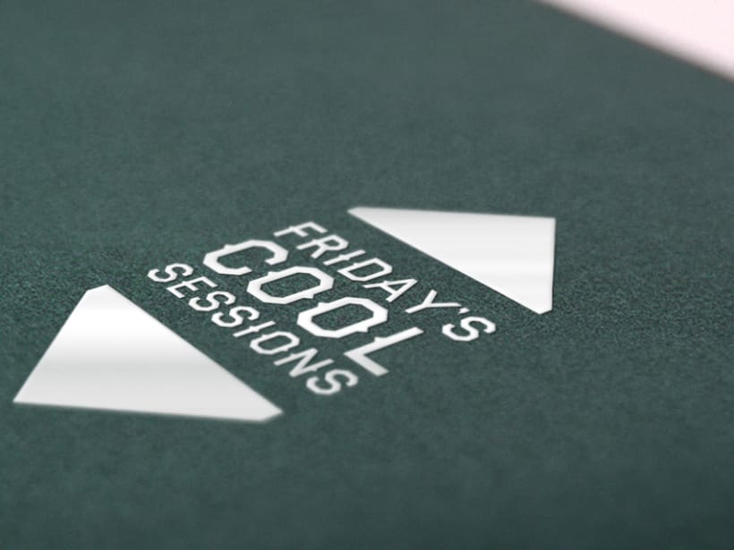 Friday Cool Sessions Logo & Poster 2