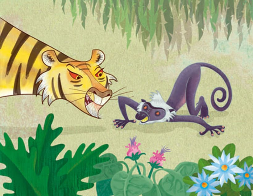 Tiger and the Mousedeer 1