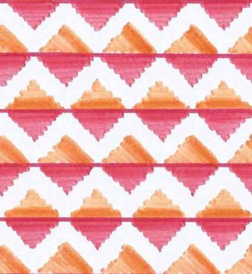 Hand made patterns 1