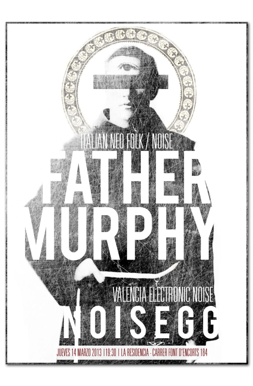 FATHER MURPHY + NOISEGG | poster 1