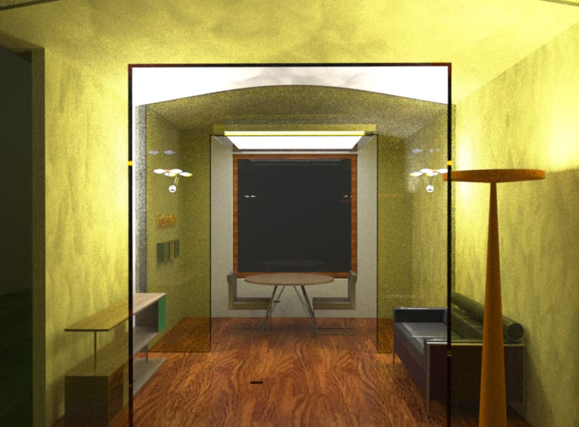 3D - Modelling & Illumination scene 2