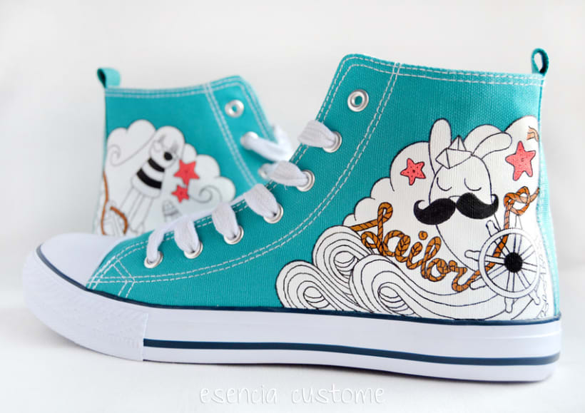 Esencia Custome: Zapatillas personalizadas 4