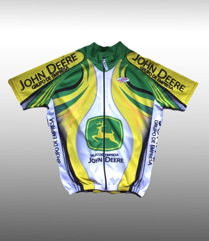 Maillot ciclista (diseño corporativo JOHN DEERE) 4