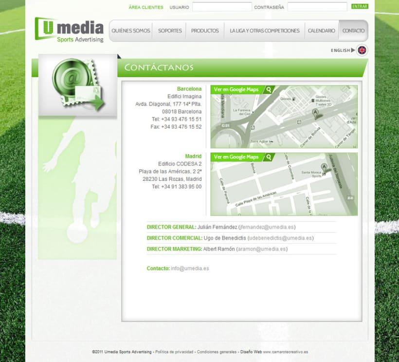 Web de Umedia 16