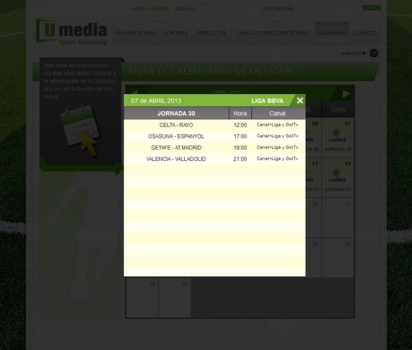 Web de Umedia 15