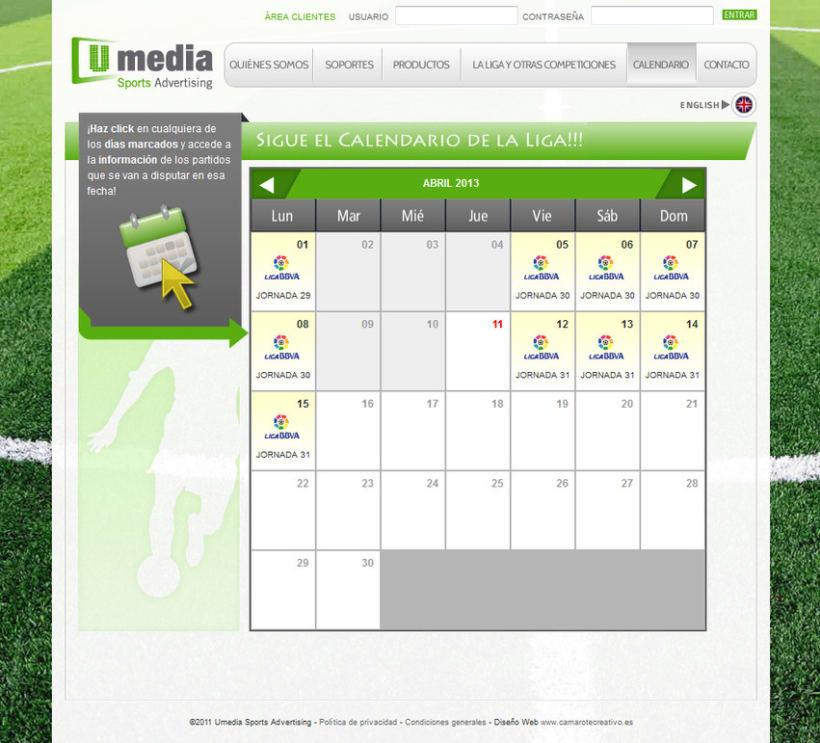 Web de Umedia 14