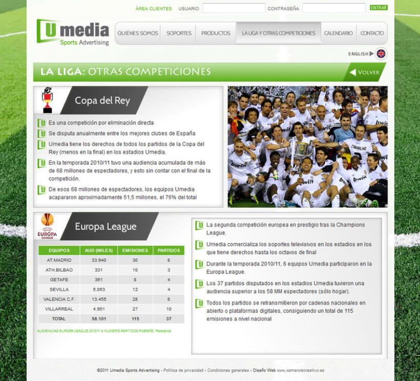 Web de Umedia 13
