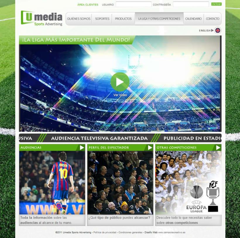 Web de Umedia 10