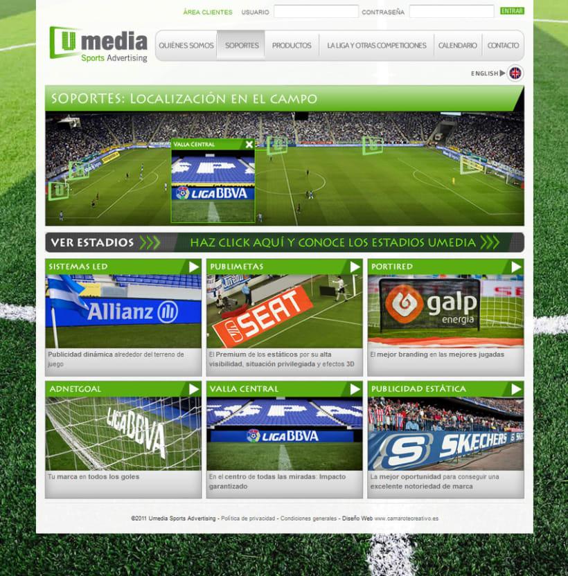 Web de Umedia 6