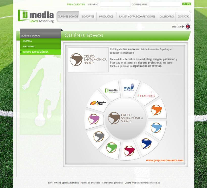 Web de Umedia 5