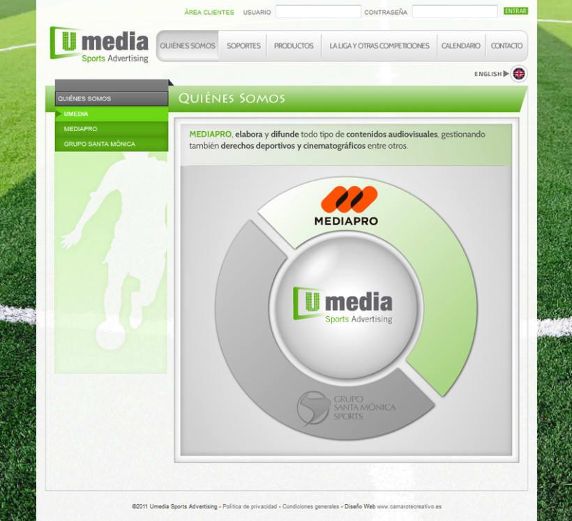 Web de Umedia 3