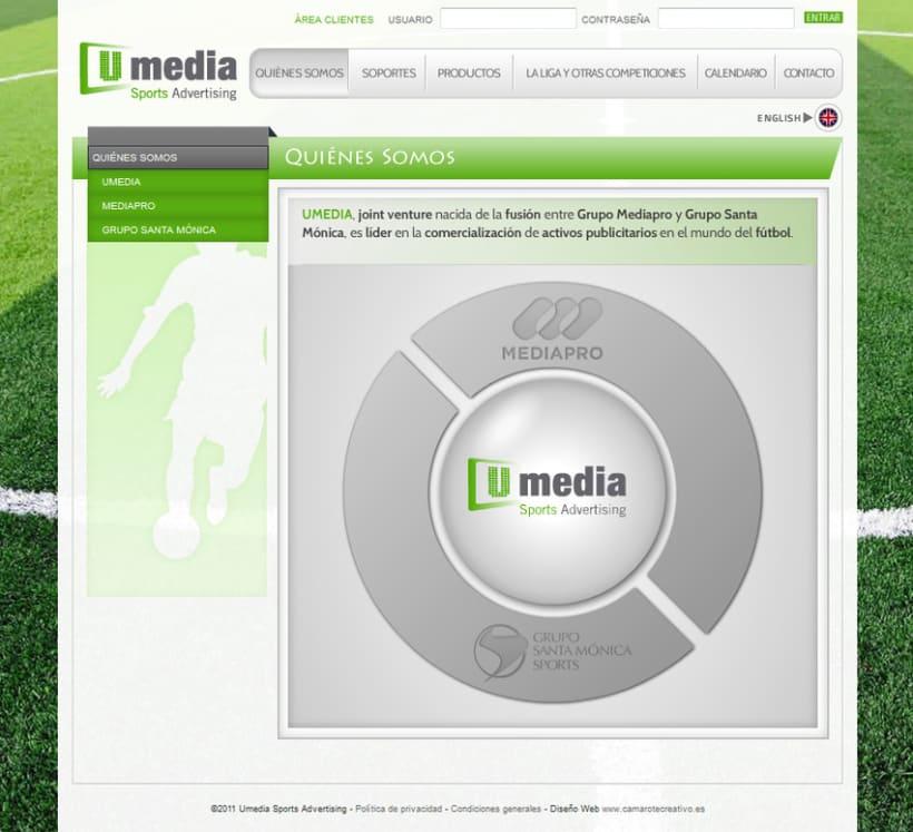 Web de Umedia 2