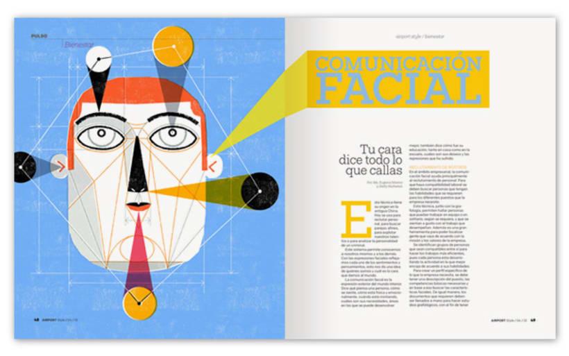 Ilustración Comunicación Facial 2