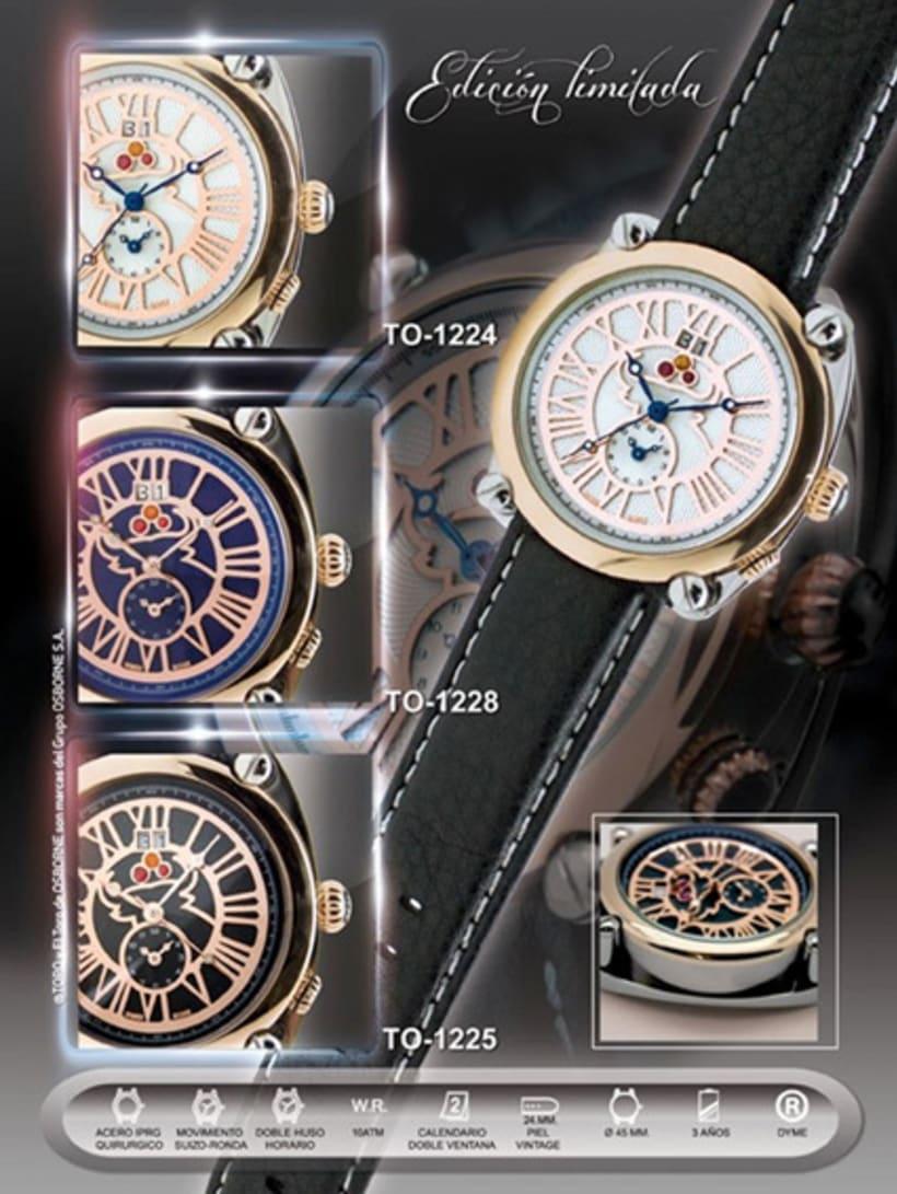 Diseño del reloj  5
