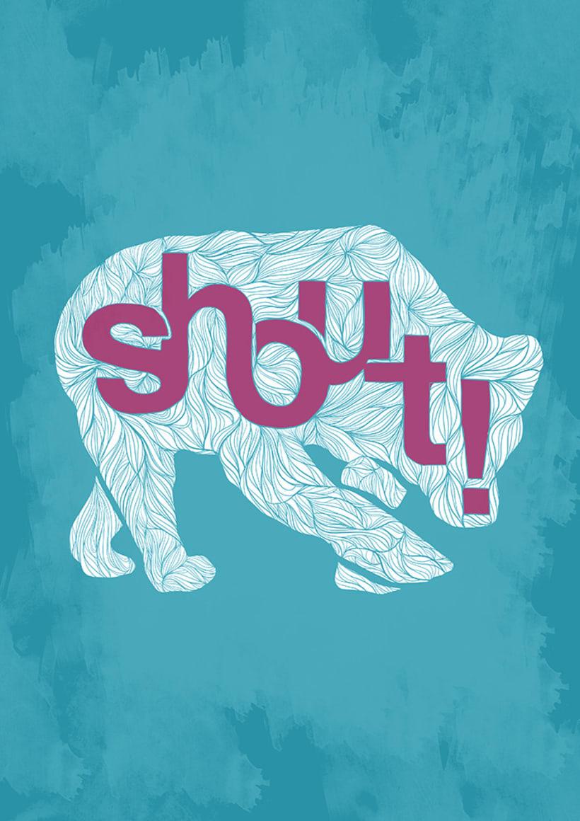Ilustración Shout! Bcn 2