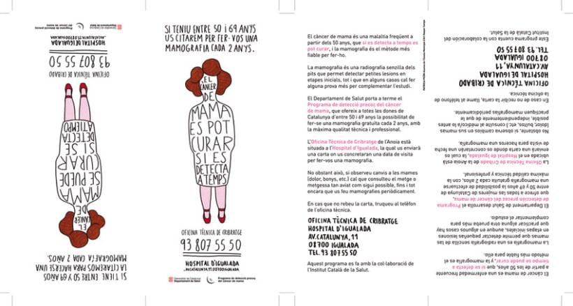 Renovación gráfica Campaña Prevención Cáncer de Mama 2
