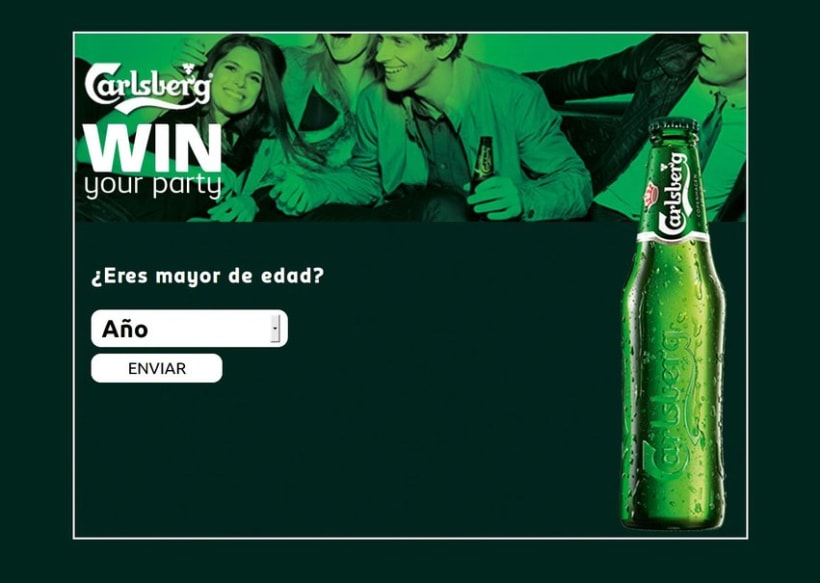 Carlsberg Win Your Party 2012 2