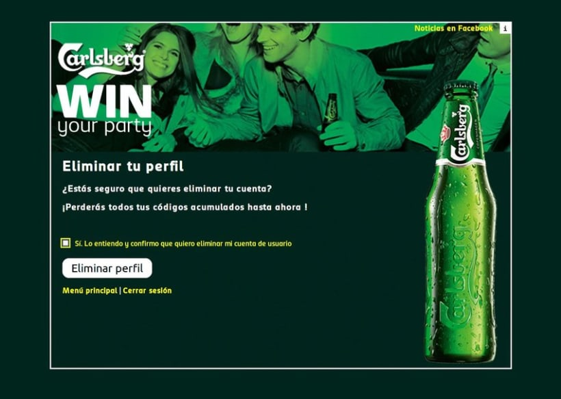 Carlsberg Win Your Party 2012 9