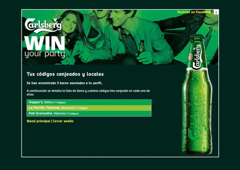 Carlsberg Win Your Party 2012 7