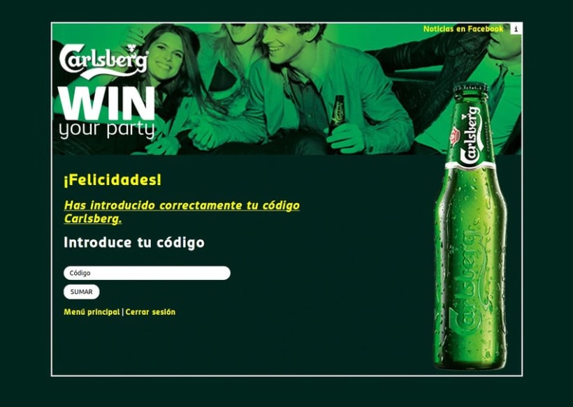 Carlsberg Win Your Party 2012 5