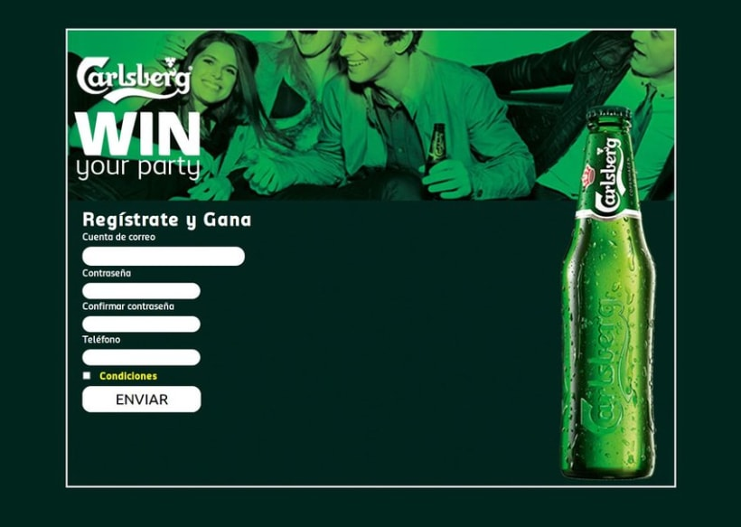 Carlsberg Win Your Party 2012 3