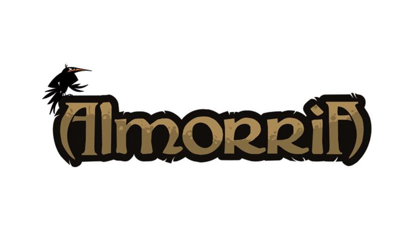 ALMORRIA Diseño logotipo 1