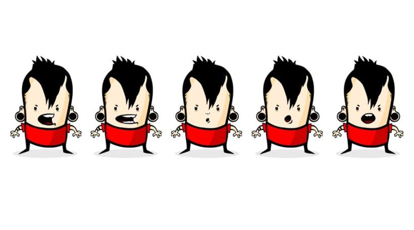 MINIGLO Diseño de personaje 1