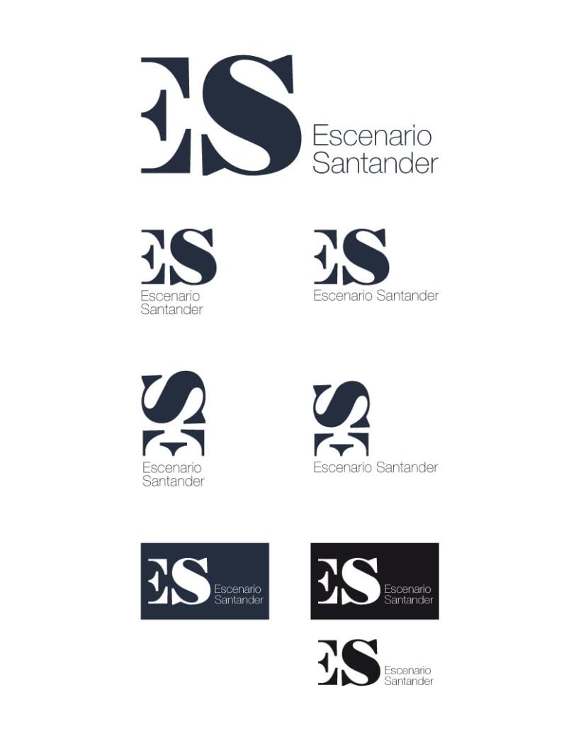 Identidad corporativa // Escenario Santander 1