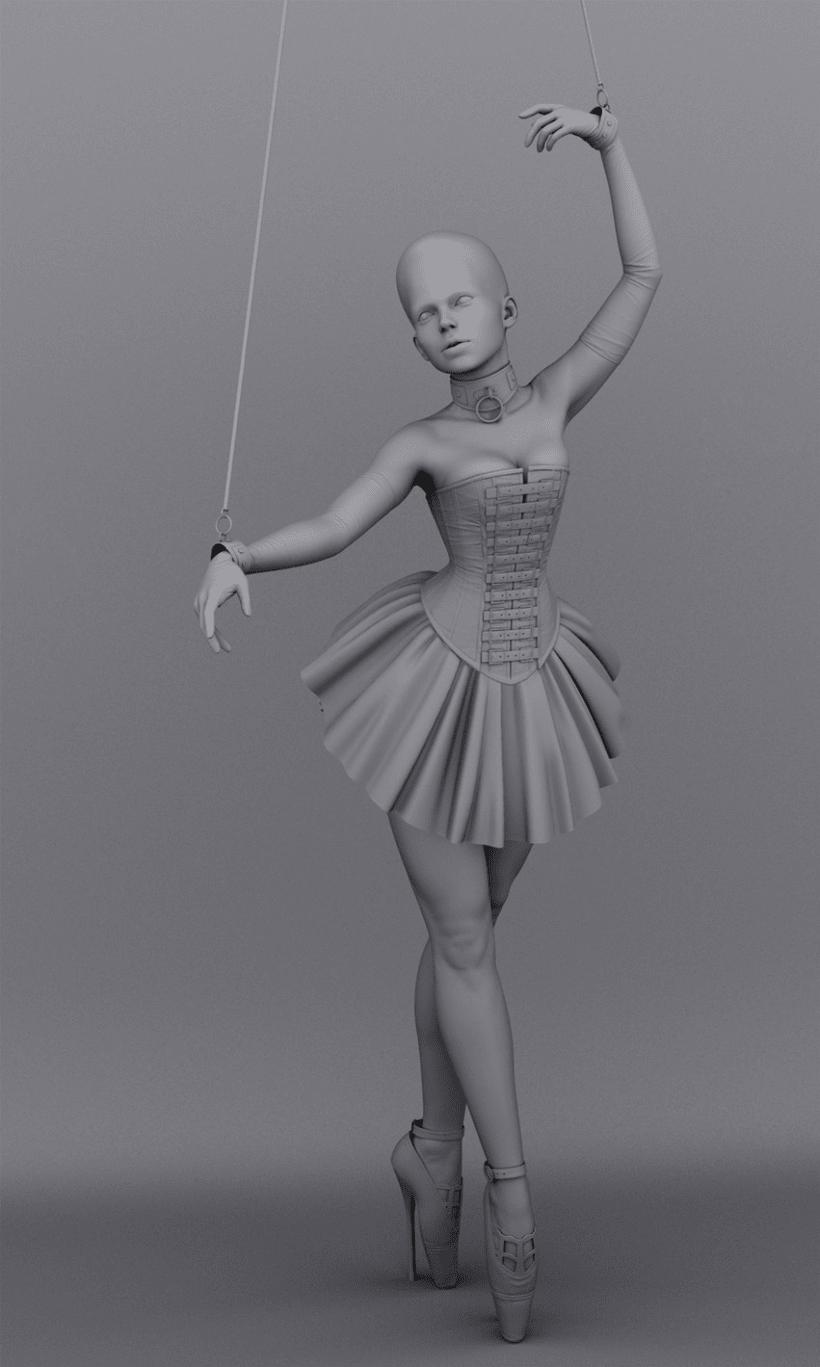 Plastic Series: Broken Marionette 4