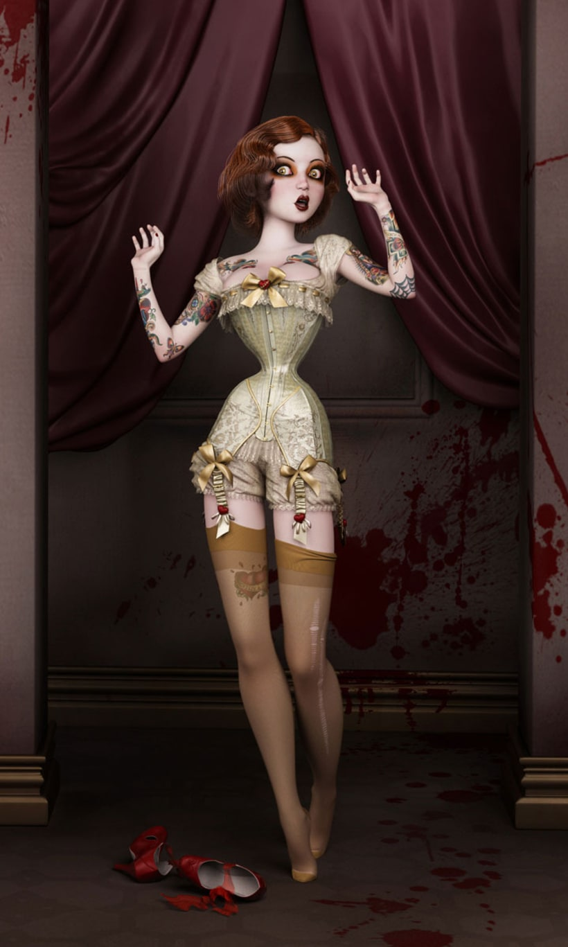 Twisted Dolls: The Butcher´s Bride 1
