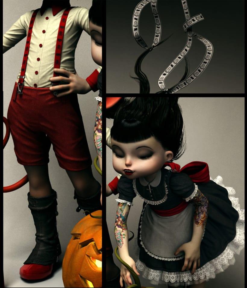 Twisted Kids: Children of The Pumpkin 3