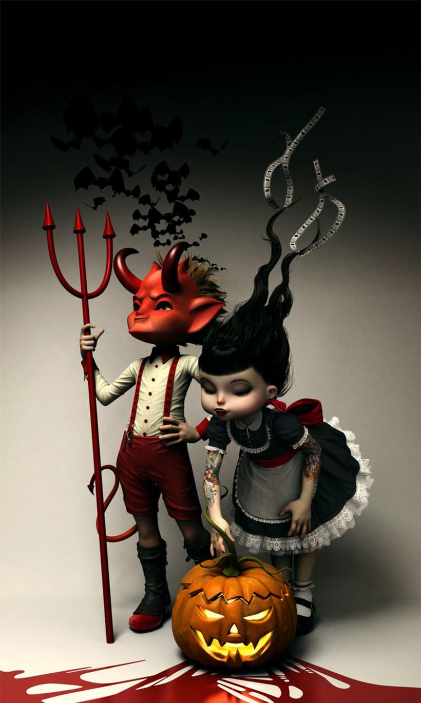 Twisted Kids: Children of The Pumpkin 2