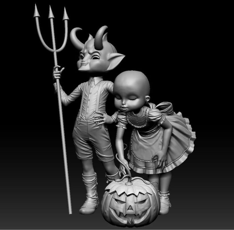 Twisted Kids: Children of The Pumpkin 4