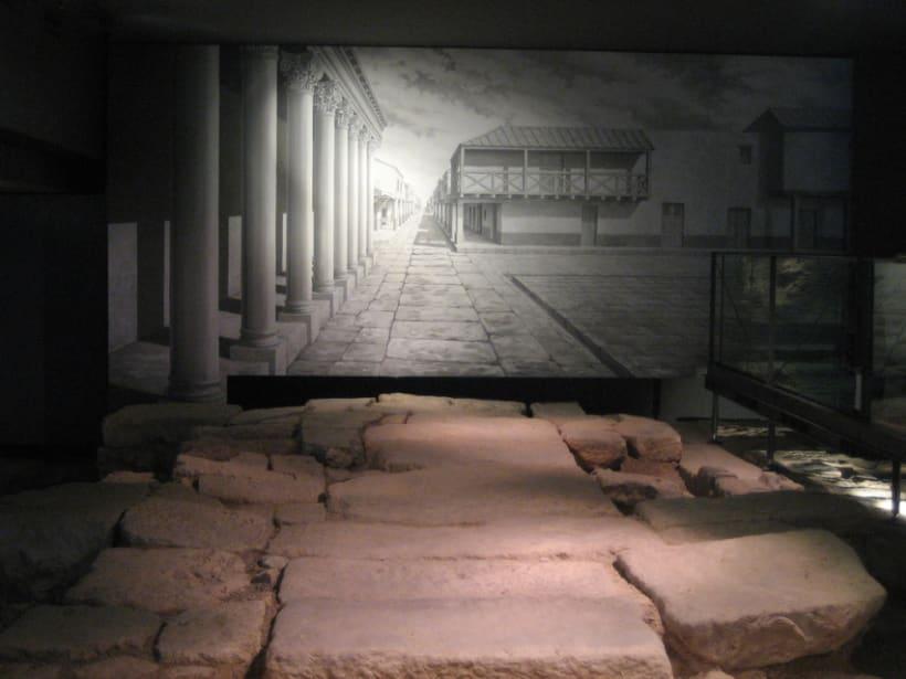 Murales para el Centro Arqueológico de la Almoina. Valencia. 4
