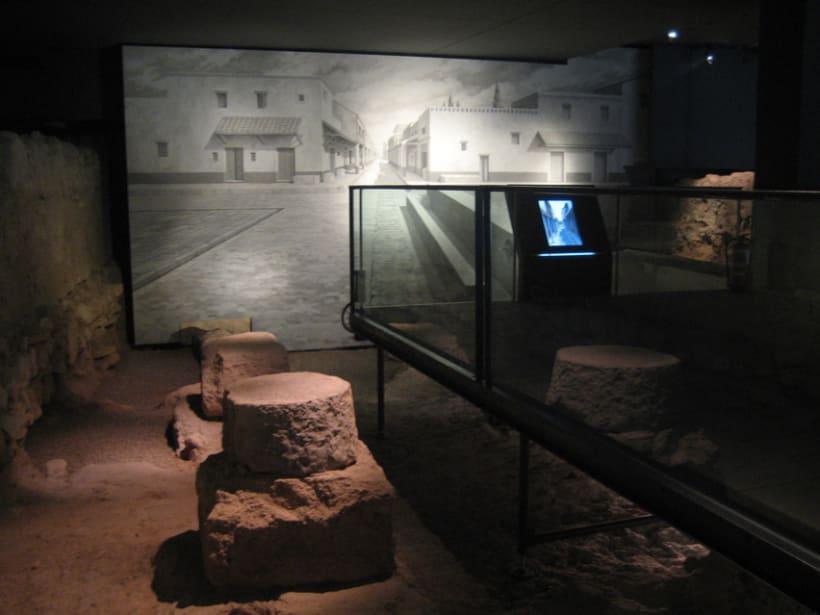 Murales para el Centro Arqueológico de la Almoina. Valencia. 5